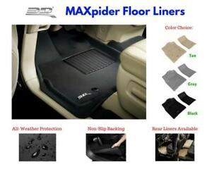 3d Maxpider Kagu Floor Mats Liners All Weather For Honda Odyssey 2011 2017