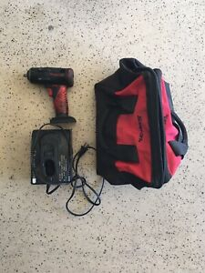 Snap On Ct4410 Impact Wrench Gun 14 4v With Charger And Bag