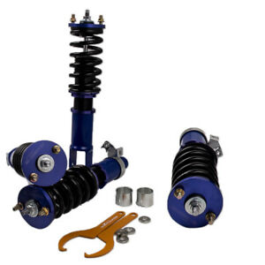 Full Coilover Kits For Honda Civic Ek 1996 2000 Coil Suspension Shock Absorbers