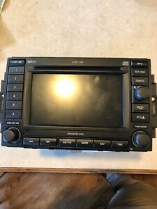 07 Chrysler 300 Navagation Radio Receiver Display Cd Player P05064184af Rec Oem