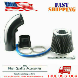 Sale Car Cold Air Intake Filter Alumimum Induction Kit Pipe Hose System Black P