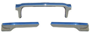 Front Bumper 3 Pieces 1960 60 Chevrolet Impala Full Size