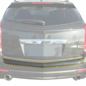 10 16 Fits Cadillac Srx Rear Bumper Clear Ppf Applique Scratch Guard Exact Fit