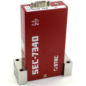 Stec Sec 7340m Mass Flow Controller Mfc W option 792a 5 Slm N2 nitrogen Gas
