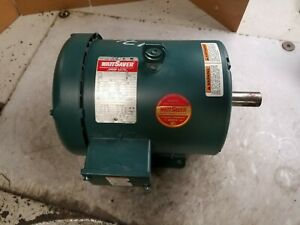 New Lesson 3 Hp Electric Ac Motor 208 230 460 Vac 1760 Rpm 182t Frame 3 Phase