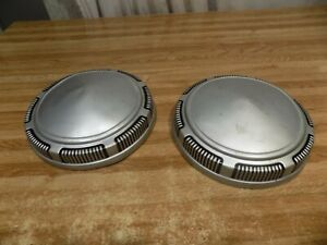 1968 74 Mopar 9 Dog Dish Hubcaps Dodge Plymouth Police Superbee Charger Dart 67