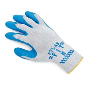 6 Pair Showa Atlas Fit 300 Rubber Coated Work Gloves Small Industrial Heavy Duty