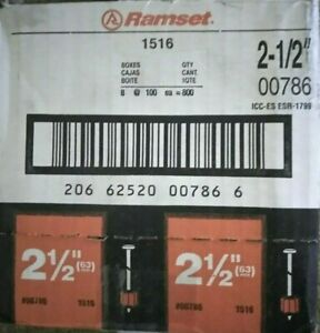 New Ramset Drive Pins 2 1 2 In 00786