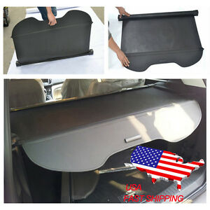 Black Retractable Rear Trunk Cargo Luggage Shade Cover For Ford Escape 2013 2019