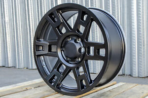 20x9 0 6x139 7 Black Wheel Fits Toyota Tacoma 4runner Lexus Gx460 Gx470 Set 4