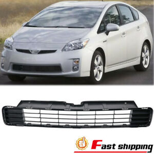 New Black Plastic Insert Front Bumper Lower Grille Fit 2010 2011 Toyota Prius