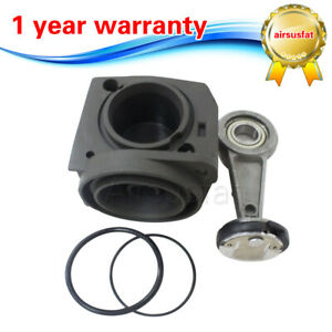 New For Vw Touareg Porsche Cayenne Air Compressor Cylinder Rings Connecting Rod