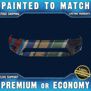 New Painted To Match Front Bumper For 2012 2015 Toyota Tacoma Base Pre runner
