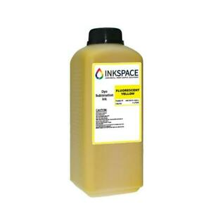 Ricoh Compatible Dye Sublimation Ink 1000 Ml Fluorescent Yellow