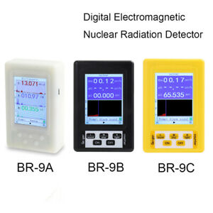 2 in 1 Digital Lcd Electromagnetic Nuclear Radiation Detector Geiger Counter