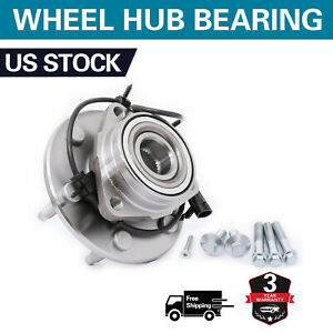 1 Front Wheel Hub Bearing For Gmc Sierra Yukon Chevy Silverado 1500 4x4 515036k