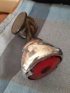 Vintage 33 34 Ford Coupe Tail Light Bracket W step
