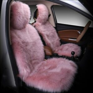 Car Seat Cover Winter Plush Fur Car Seat Protector Auto Seat Covers Car Seat Cov