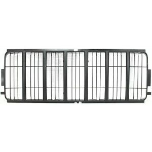Grille Insert For 2002 2004 Jeep Liberty Black Plastic Fits Jeep Liberty
