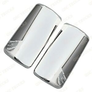 Qsc Chrome Door Mirror Covers Right Left Pair For International Lt625 Trucks