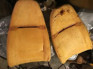 Be Seated 1973 Amc Javelin Amx Sst Left Right Front Seat Foam Backs