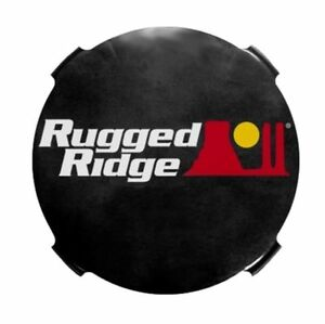 Rugged Ridge Hid Off Road Light Covers 7 inch Smoked X 15210 51