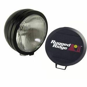 Hid Off Road Fog Light 5 inch Black Rugged Ridge X 15205 02