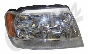 Headlight For Jeep 2001 To 2004 Wg Europe Grand Cherokee Crown 55155576ae