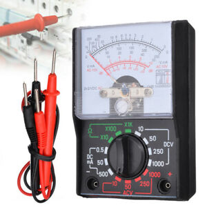Analogue Meter Multimeter Ac Dc Volts Ohm Electrical Circuit Multi Tester