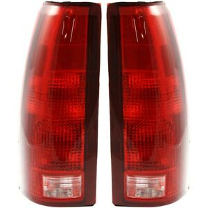 Tail Light For 1988 1998 Chevrolet C1500 Driver And Passenger Side
