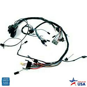 1963 1964 Nova Chevy Ii Dash Harness Ss With Factory Gauges With Backup Lights