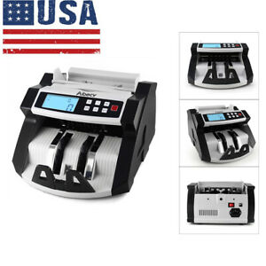 Aibecy Automatic Multi currency Cash Money Bill Counter Counting Machine E6p4