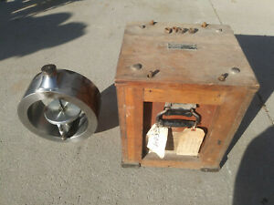 Vintage Morehouse 100 000 Lb Proving Ring In Original Crate