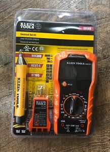 Klein Tools 69149 Electrical Test Kit W multimeter Non contact Voltage Tester