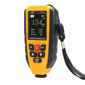 Ht 129 Thickness Gauge Car Coating Meter Digital Tester With Backlight Lcdscreen