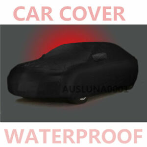 Stormproof Waterproof Breathable Black Car Cover Outdoor For Toyota Corolla