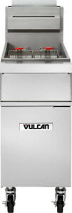 Vulcan 1gr45a Full Pot Floor Model Gas Fryer