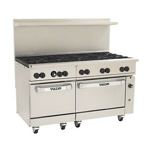 Vulcan 60ss 10bp 60 Gas Restaurant Range