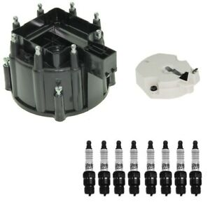 Distributor Rotor Cap Spark Plugs Kit Acdelco For Chevy C10 C20 Gmc K2500 P35