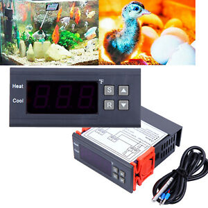 Dc 12v Digital Temperature Controller Thermostat W ntc For Greenhouse Aquarium