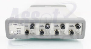 Agilent N7748a Quad Channels Power Meter Ingaas Calibration Included
