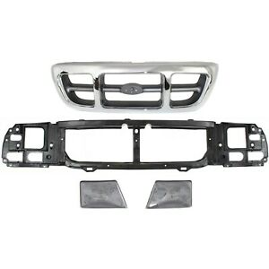 Headlight And Grille Kit For 1998 2000 Ford Ranger 4wd