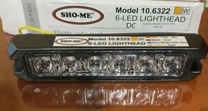 Sho me 10 6322 6 led Lights Fire Ems Construction Towing