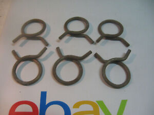 Vintage Chevrolet Pontiac Buick Olds Gm Hose Clamps Set Of 6 7 8 Id 1 Od Nos