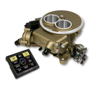 Sniper By Holley Fuel Injection System 550 851 350 Hp 580 Cfm Classic Gold