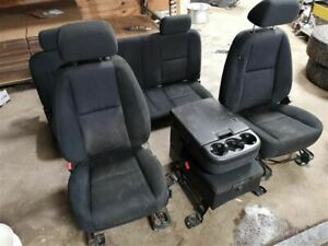 Driver Front Seat Bucket And Bench Cloth Fits 12 13 Sierra 1500 Pickup 205319