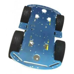 4wd Smart Car Robot Car Alloy Chassis Diy Kit Parts With Reduction Motor