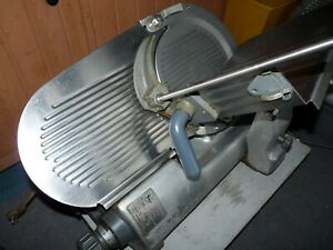 Hobart 2612 Manual Commercial Deli Meat Cheese Slicer Serviced In Ashland Ohio
