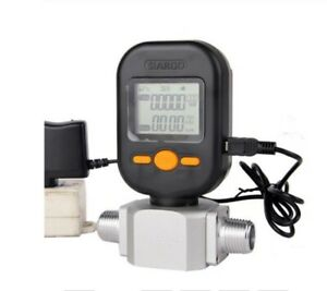 Flow Meter 200l min Digital Gas Air Nitrogen Oxygen Mass Flow Meter Rs485 Modbus