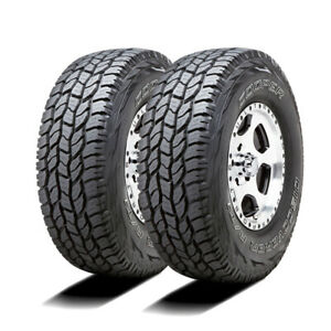 2 New Cooper Discoverer A t3 255 70r16 111t At All Terrain Tires